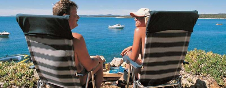 Naturist camping - an established Croatian tradition
